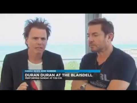 Duran Duran -Simon  & John Speak to Hawaii News Now