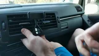 Mercedes B Class Vents And Radio Removal Diy Youtube