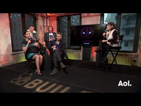 Ryan Reynolds, Morena Baccarin and TJ Miller on Shooting Sex s  AOL BUILD
