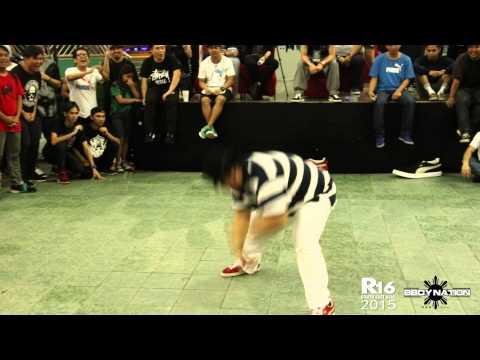 Heavy Boogie vs KK| Locking  | Top 8 | R16 South East Asia 2015 | Bboynation