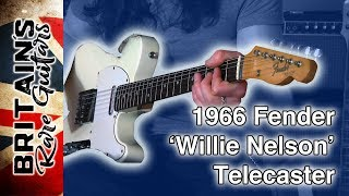 1966 Fender 'Willie Nelson' Telecaster