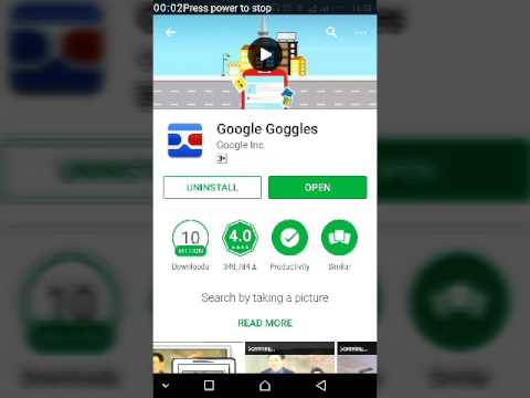 What is google goggles.benefits of goggles. Urdu hindi