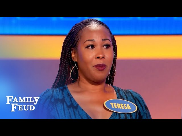 I gotta have a DRINK before I... | Family Feud