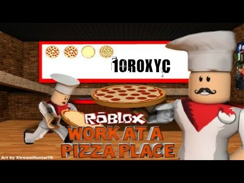 WORK AT A PIZZA PLACE: DELIVERING LIKE CRAZY!