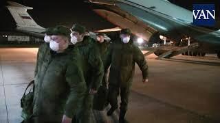 El Ejército De Rusia Entra En Italia