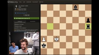 Lichess Titled Arena August 2020. Magnus Carlsen playing.
