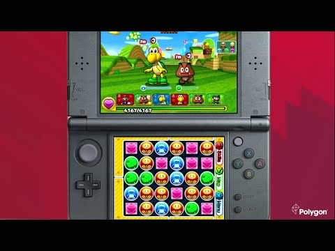 Here's 20 minutes of Puzzle & Dragons: Super Mario Bros. Edition gameplay