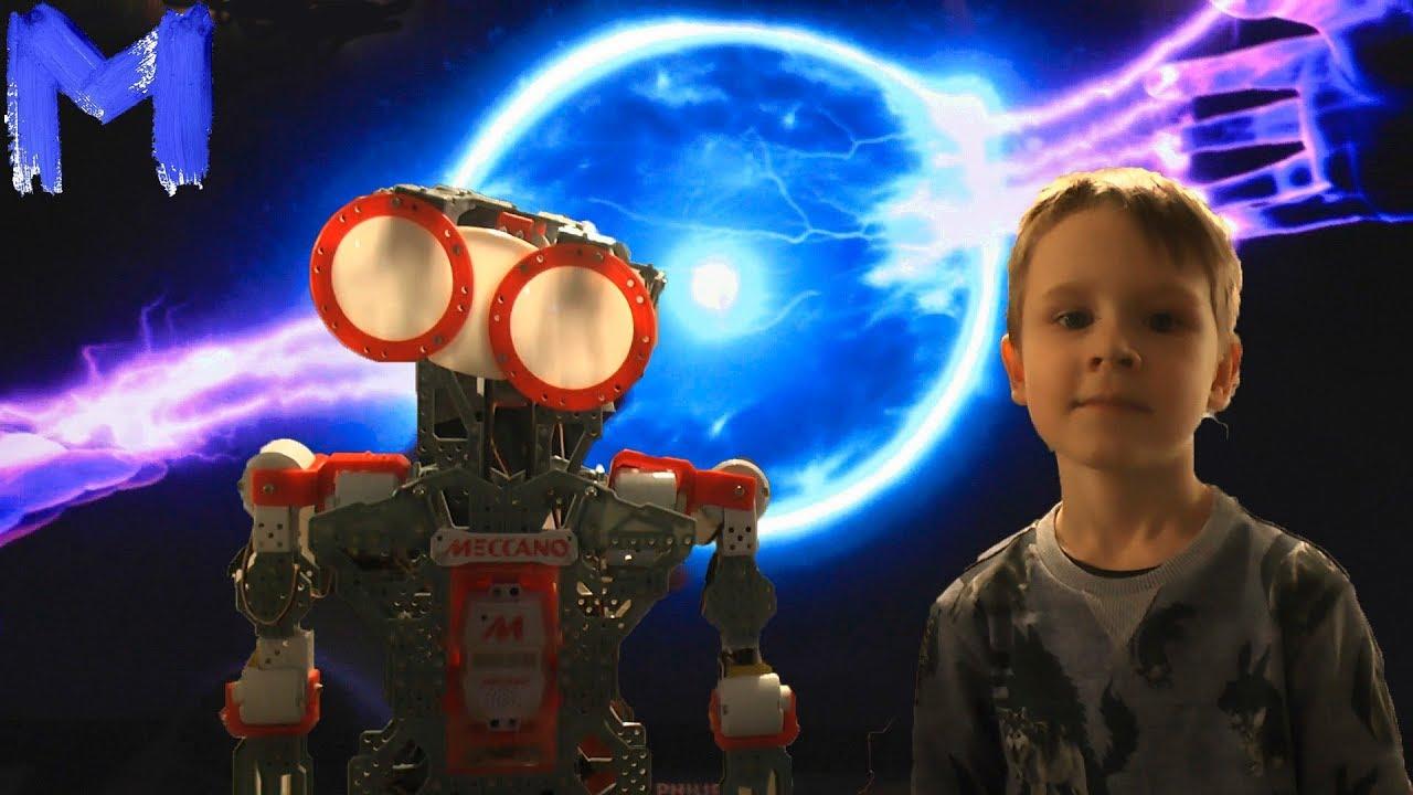 Роботы, Виртуальная реальность и Космические технологии на выставке Империя роботов Видео для детей