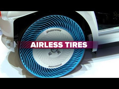 cnet on cars road to the future airless tires youtube. Black Bedroom Furniture Sets. Home Design Ideas