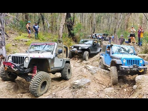 Australian Jeep Jamboree - Widow Maker 4x4