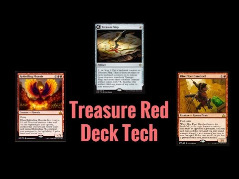 Treasure Red Deck Tech in 10 Minutes or Less! (Magic: The Gathering)