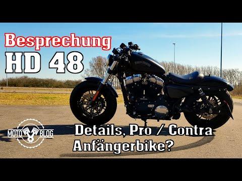 Besprechung der Harley Davidson Forty Eight
