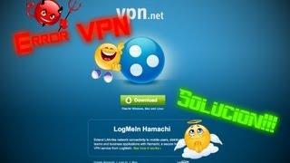 Como solucionar el error VPN en Hamachi (Como un triangulo amarillo)   Agustinox1000