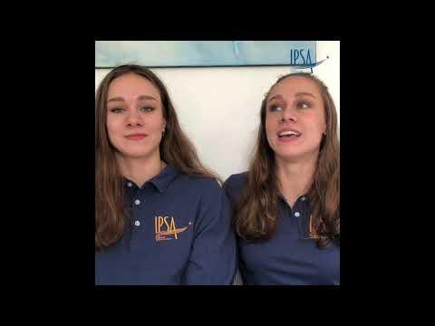 Charlotte et Laura Tremble, 2 étudiantes aux JO de Tokyo !