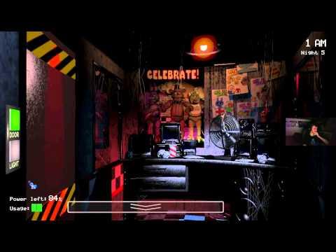 Five Nights at Freddy's - God Mode Glitch