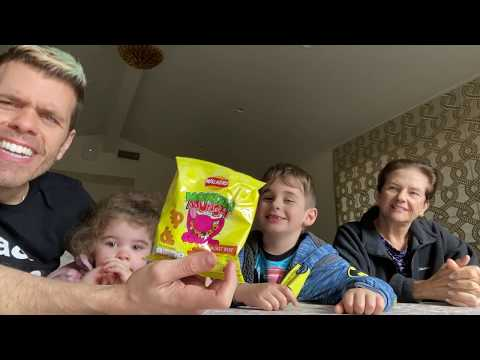 Mukbang Malfunction! Trying British Treats Turns Ugly! | Perez Hilton And Family
