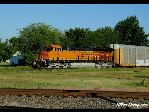 2016 Ohio Rail Hot Spots Trip - Day 3 in Deshler, OH (6/17/2016, First Half)