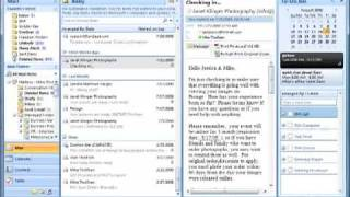 Outlook and OneNote integation tasks, meetings, contacts and email
