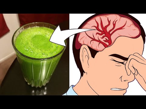 Most Powerful Juice Stops Headache And Migraine In Only 1 Minute