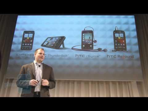 HTC Rezound announcement event