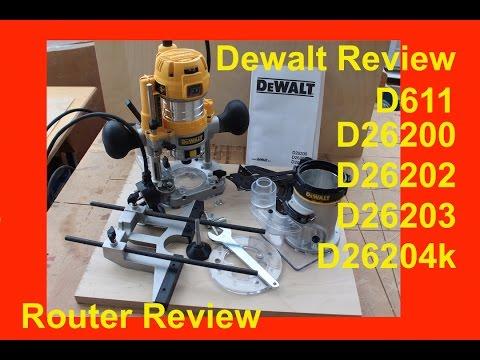Dewalt Dwp611pk Compact Router Review Funnycat Tv