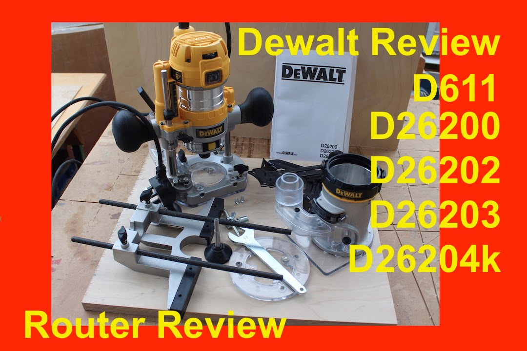 Independent review dewalt d26204k dwp611pk fixed base and plunge independent review dewalt d26204k dwp611pk fixed base and plunge base router greentooth