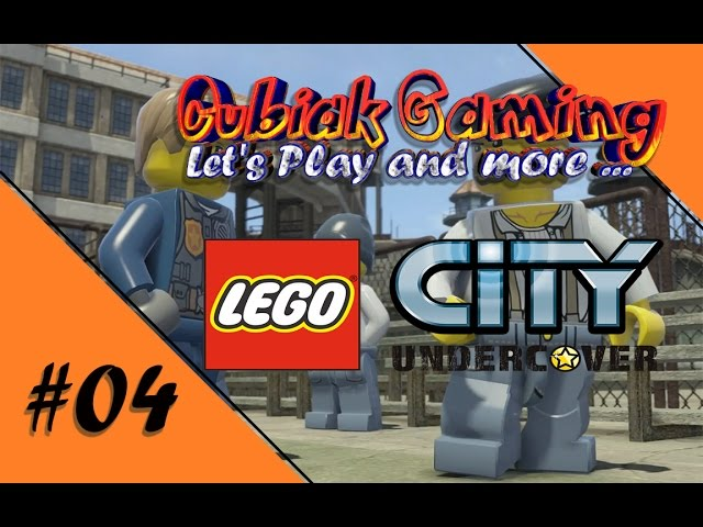 ALBATROS PRISON BLUES ★ Let's Play LEGO City Undercover #04