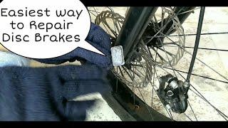 How to Repair Disc Brake | MTB Disc Brake Problem?