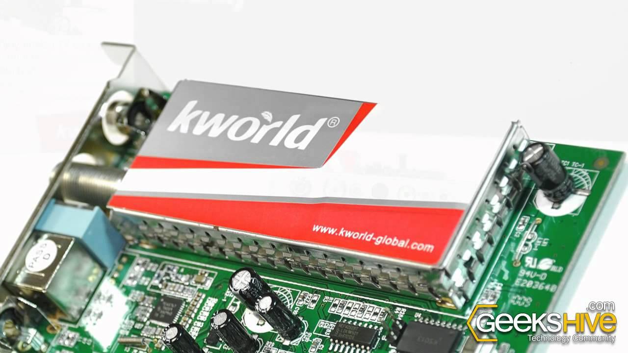 KWORLD USB PVR-TV DRIVERS DOWNLOAD
