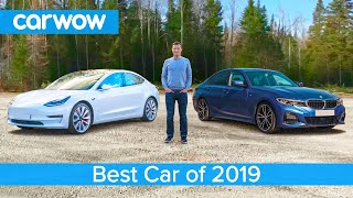 Tesla Model 3 v BMW 3 Series v Toyota Supra v Bentley Flying Spur v Peugeot 208 - which is best?