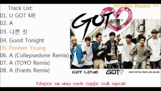 Repeat youtube video [MGL SUB] GOT7 - Got Love full album