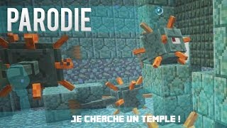 "Parodie MineCraft - Dynamyk | Je cherche un temple ! - Audio ( "" Fancy "" )"
