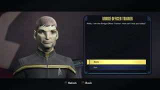 Star Trek Online how to train bridge crew