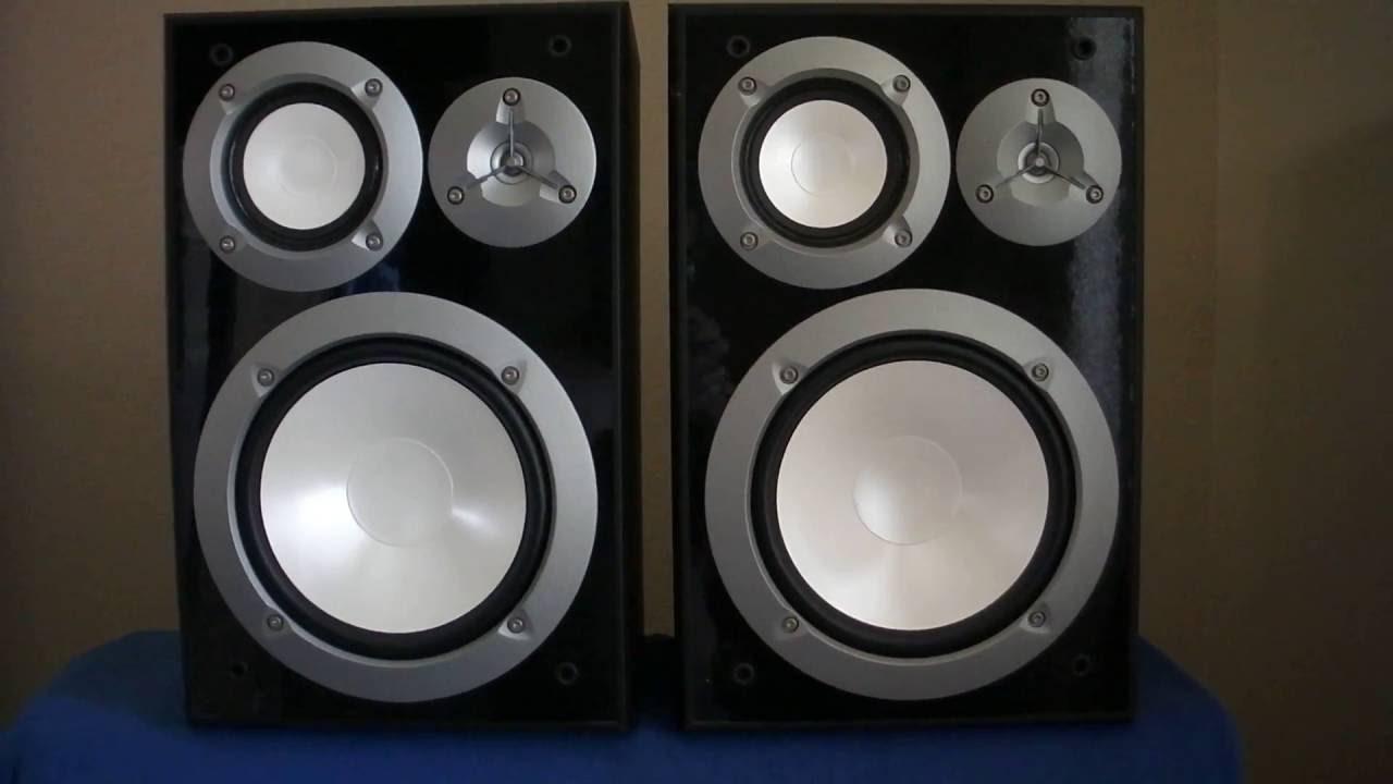 Yamaha NS 6490 Bookshelf Speakers Sn I213380