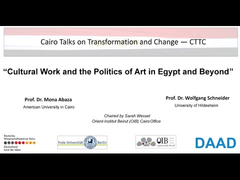 Culture Work and the Politics of Art in Egypt and Beyond