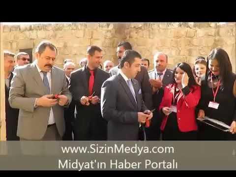 Midyat konuk evindeki sergi ve Midyat reyhani oyunu