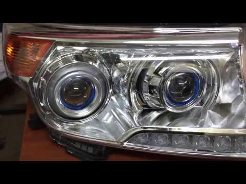 Установка Optima Bi Led на Toyota Land Cruiser 200