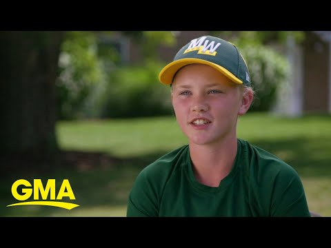 Rachel Ramsey - MN Girl is 1st Girl to Play in Little League World Series in 5 Years