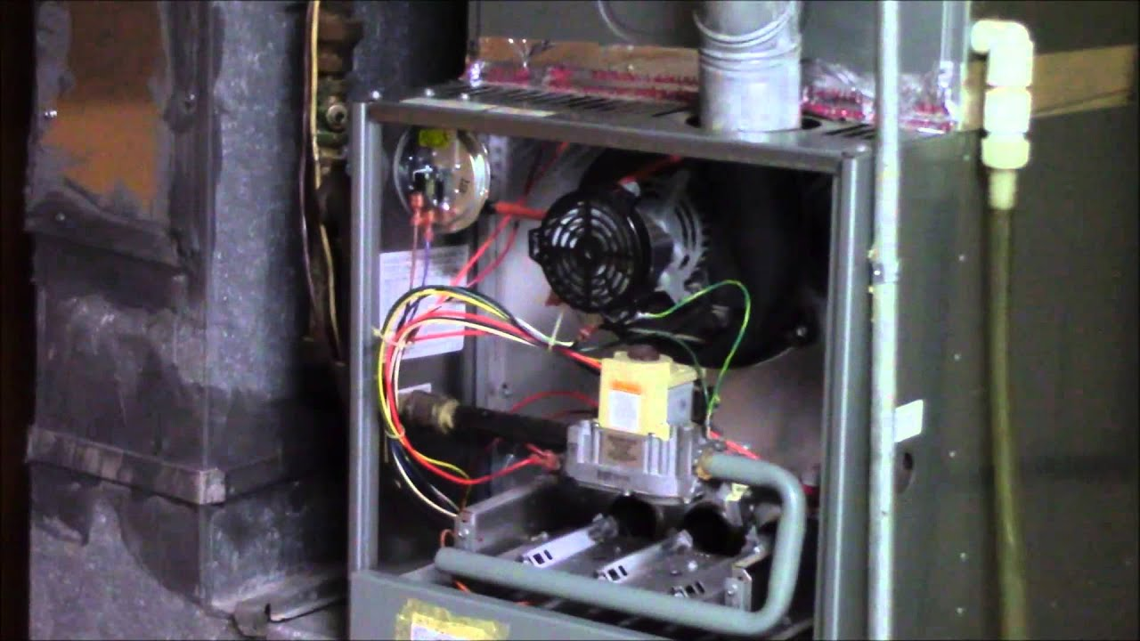 Rheem Furnace Gas Leak Check And Sequence Of Operation