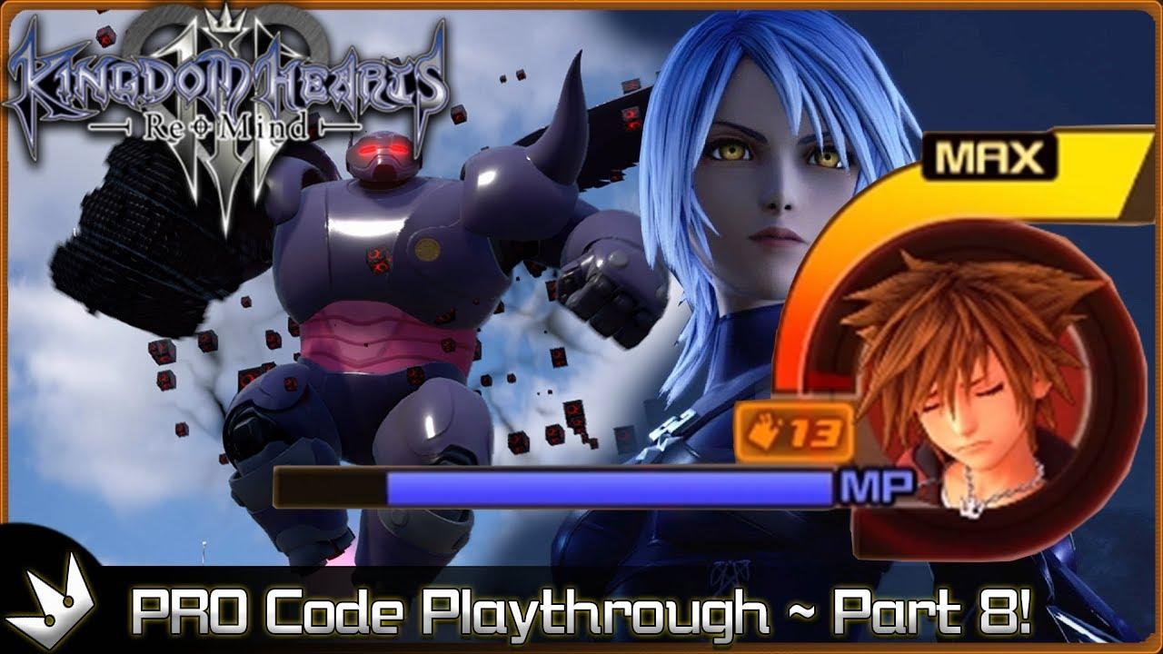 Kingdom Hearts 3: PRO Code - BH6 and Dark Aqua! ~ Part 8