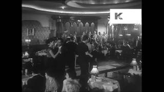 1950s Dance Hall, Nightclub, Dinner and Dancing, Nightlife