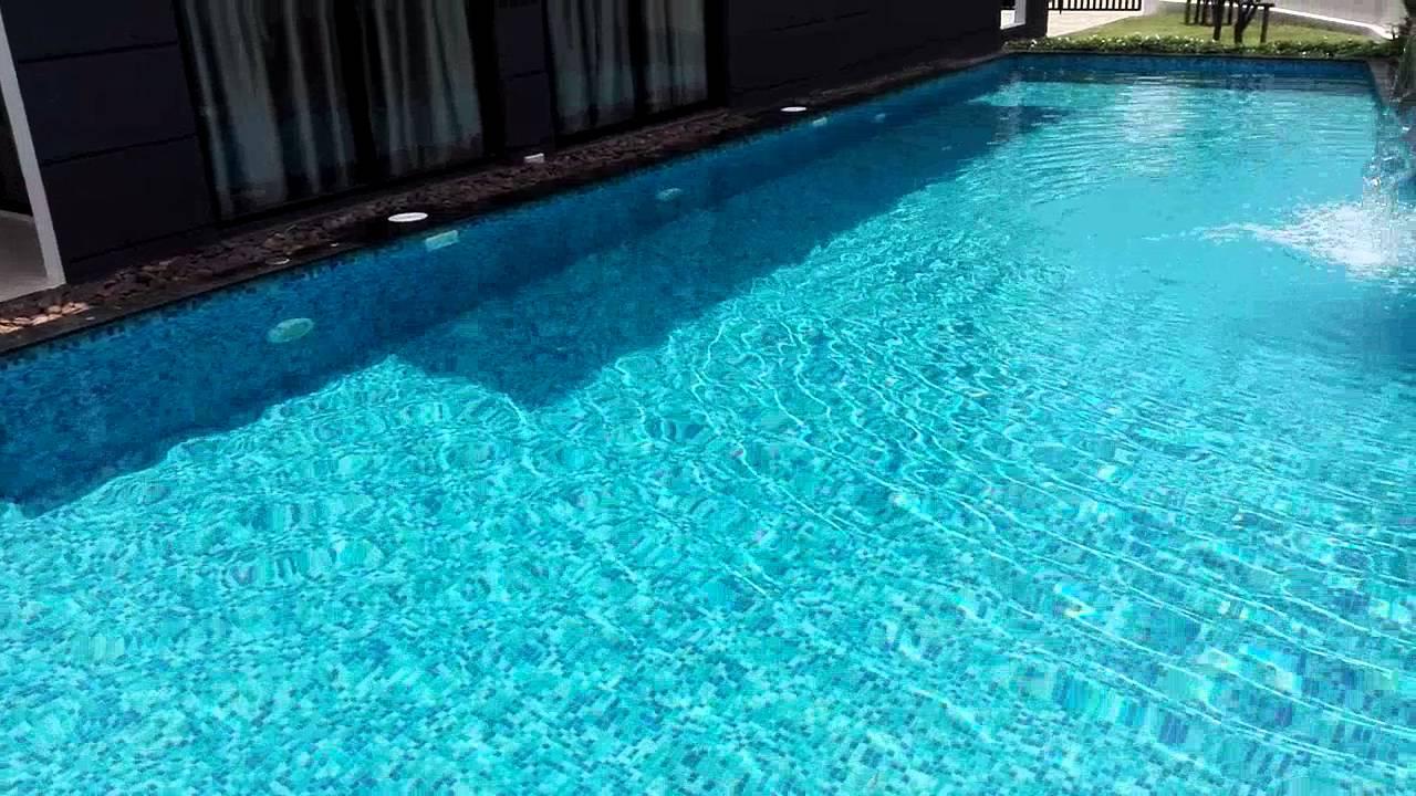 Fiberglass pool fully mosaic tile youtube fiberglass pool fully mosaic tile ppazfo