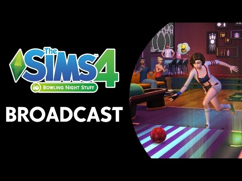 The Sims 4: Bowling Night Broadcast (March 24th, 2017)