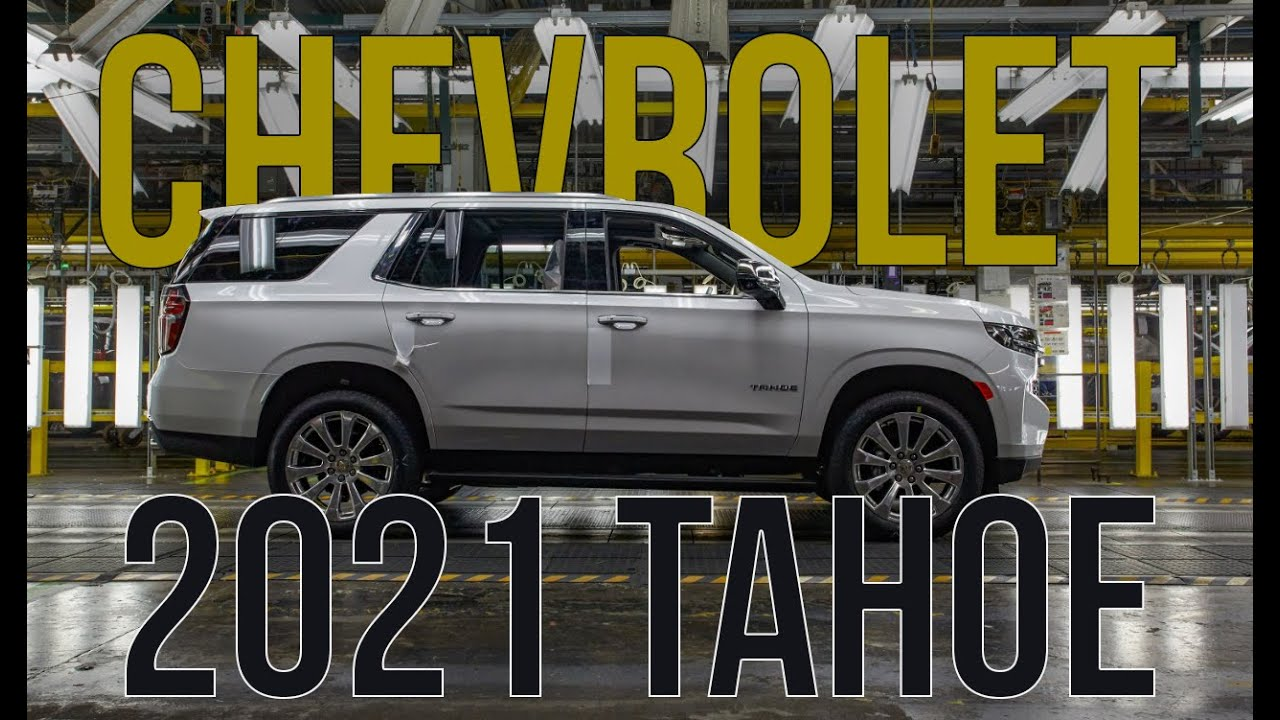 all new 2021 chevrolet tahoe  u0026 suburban full details and specs