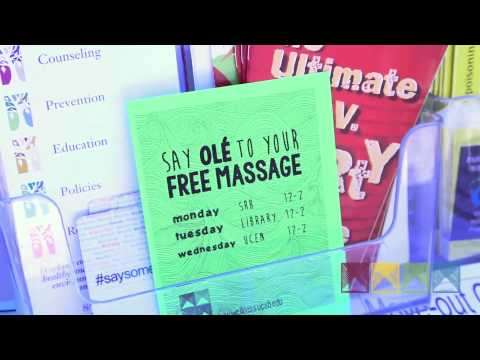 Get Your FREE Massage | UCSB Health & Wellness