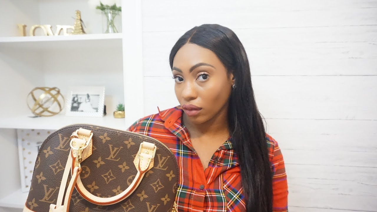 Louis Vuitton Alma Bb Monogram Unboxing Review Youtube