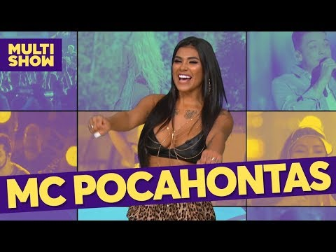 Mc Pocahontas  TVZ Ao Vivo  Música Multishow
