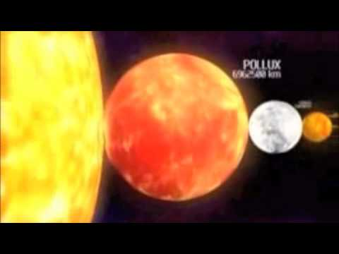 Planet Antares | Comparison Video - YouTube