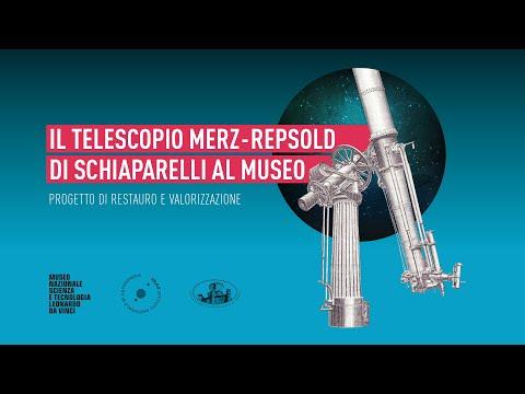 Merz-Repsold,  la storia del telescopio di Schiaparelli raccontata da Agnese Mandrino