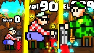 IS THIS THE HIGHEST LEVEL DRILLER DRILL EVOLUTION? (9999+ DRILL SIMULATOR DEEP MINE) l Dig Away!